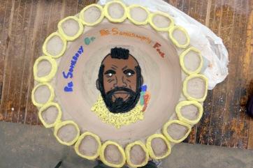 """ceramic, 16"""" in diameter"""