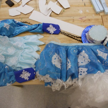 Finished costumes...