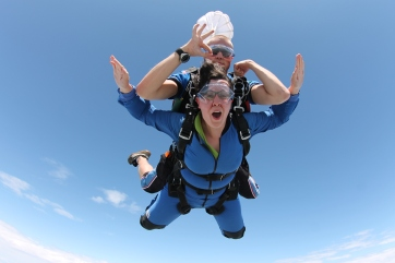 Sam Goes Skydiving