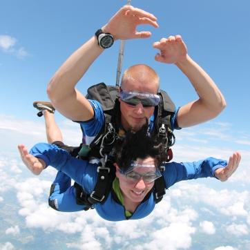 Sam Goes Skydiving
