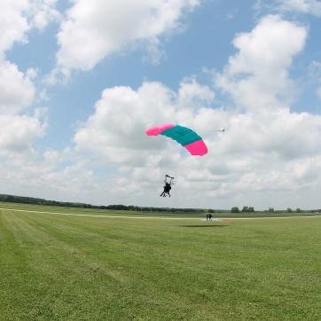 Sam Goes Skydiving!