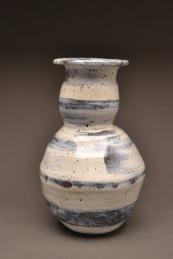 "Betelgeuse Vase #1 Stoneware 12""x 6"" x 6"" 2013"