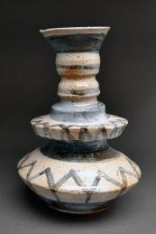 "Betelgeuse Vase #2 Stoneware 14""x 8"" x 7.5"" 2013"