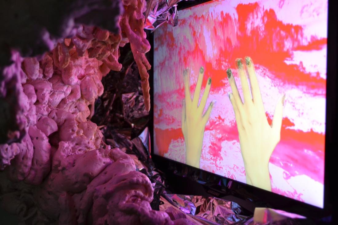 Peek-a-Booth Interior Detail